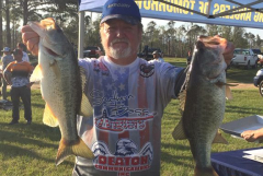 NW FL BASS NATION 2ND QUAL - BOATER 4TH